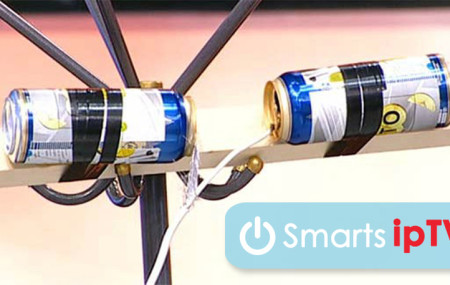 Как сделать антенну из пивных банок для цифрового ТВ своими руками