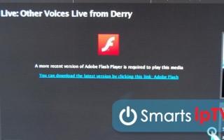 Как обновить Flash Player на телевизоре Samsung Smart-TV: инструкция