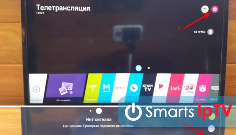 не могу настроить цифровые каналы на телевизоре lg через антенну форум