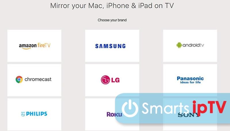 как подключиться с айфона к телевизору lg