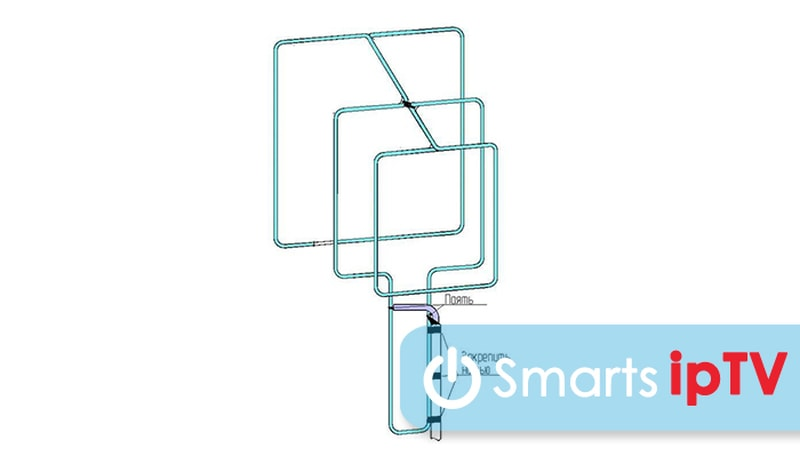 антенна для цифрового телевидения своими руками из кабеля