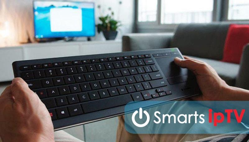 как подключить беспроводную клавиатуру к телевизору samsung smart tv